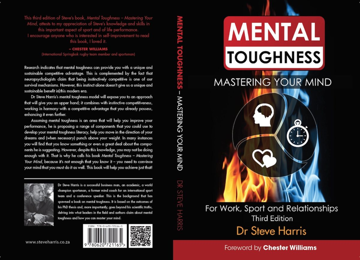 Mastering Your Mind Cover - Dr Steve Harris - Mental Toughness