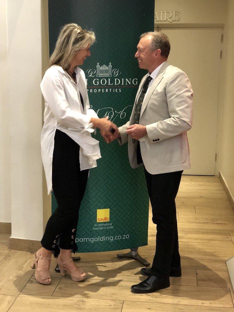 Motivational Speaker Dr Steve Harris - Pam Golding Properties 2