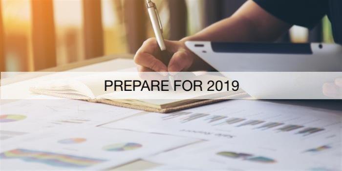 prepare for 2019