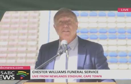 chester williams funeral service with speaker dr steve harris motivational speaker