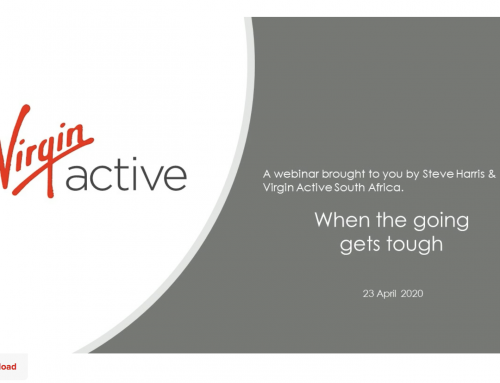 Virgin Active Webinar When The Going Get Tough